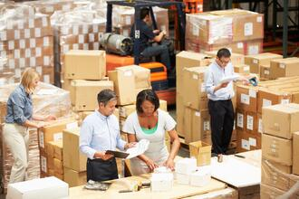 preparing shipments in fulfillment warehouse